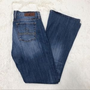 Lucky Brand Sofia Boot stretch jeans 10